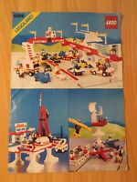 Vintage Lego Town 6395 Victory Lap Raceway - Instruction Manual Only