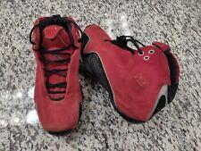 "finest selection 26c06 4c46b Nike Air Jordan 21 XXI ""Red Suede"" 2006 Size 7y 7 Toro Ferrari Bulls"