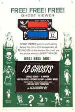 13 Ghosts Poster 02 A3 Box CaNvas Print