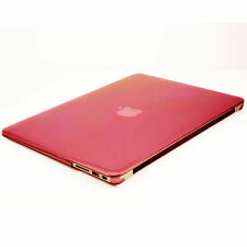"Carcasa rigida para Mac Pro 13,3""  funda ordenador portatil  Macbook Rojo"