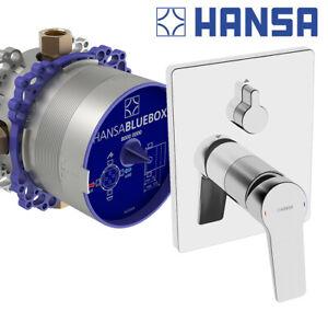 Hansa Unterputz Bluebox Armatur Hansa Twist Dusche Set Duscharmatur Badewanne