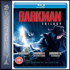 DARKMAN TRILOGY - Liam Neeson  **BRAND NEW BLU-RAY**
