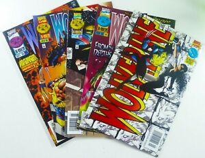 Marvel WOLVERINE (1996) #97 101 102 103 105 LOT Ships FREE!