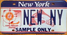 New York Thousand Islands region license plate Waterfowl 1000 Saint Lawrence