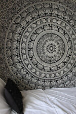 Indian Tapestry Wall Hanging Mandala Throw Hippie Bedspread Gypsy Twin Blanket