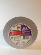 New 3m Venturetape 1581a Natural Aluminum Foil Tape 25 In X 60 Yd