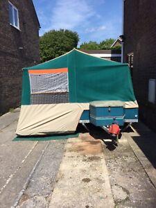 Raclet Solena Trailer tent (Folding Camper )