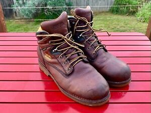 Chippewa Boots - Colville Mens Size 10.5 US Brown Waterproof Insulated