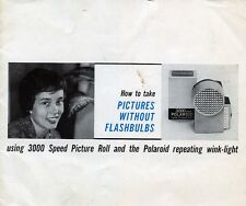 """PUBBLICITA' WERBUNG """" """" USING 3000 SPEED PICTURE ROLL AND THE POLAROID """""""
