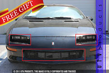 GTG 1993 - 1997 Chevy Camaro 3PC Gloss Black Combo Billet Grille Grill Kit