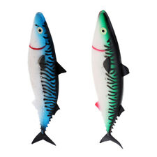 2pcs Big Size Lures Fishing Tackle Hollow Fish Lure for Baits/ Hooks/ Swivel