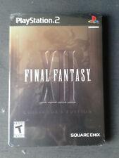 PlayStation PS2 Final Fantasy 12 XII Collector's Edition GameStop