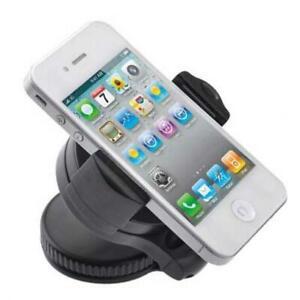 CAR MOUNT PHONE HOLDER WINDSHIELD SWIVEL CRADLE WINDOW DOCK H9O for Smartphones