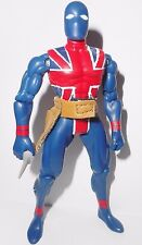 marvel universe toy biz UNION JACK 1998 mail away toyfare fare toybiz super hero