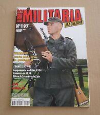 Militaria magazine N° 197  LIVRAISON GRATUITE.