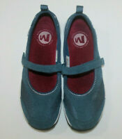 Merrell Majolica Blue Leather Women's Mary Janes Flats Shoes Size 8.5 / 9