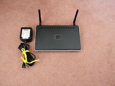 D-Link DIR-625 Wireless Router with Adapter and Stand