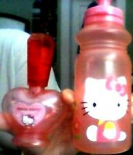 HELLO KITTY SPORT /TODDLER/INFANT BOTTLE WITH HELLO KITTY HEART - SHAPED EMPTY B