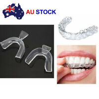 4x Silicone Night Mouth Guard for Teeth Clenching Grinding Dental Sleep Aid