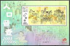 Macau - Volkszählung postfrisch 2001 Block 93 Mi. 1162