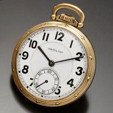 Hamilton 950E Railroad Pocket Watch | 23 Jewel, 16 Size, Triple Signed Hamilton