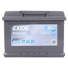 AUTOBATTERIE PKW-BATTERIE EXIDE PREMIUM CARBON BOOST EA612 61-AH 600-A 31961785