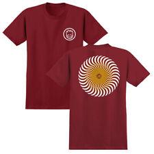 Spitfire Wheels Tee Classic Swirl Fade Cardinal Mens Skateboard T-Shirt