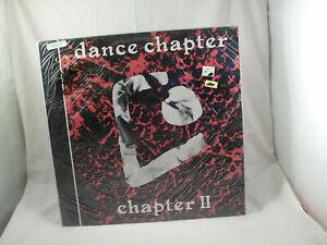 "DANCE CHAPTER Chapter II SEALED Orig UK 12"" 4AD BAD115 NEAR MINT vinyl 4 track"