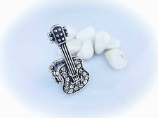 Guitar Ring - Unisex Stretch Ring with Guitar - Great Gift For Any Guitar Lover