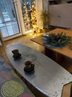Surfboard Kiteboard Table Steampunk NAVY Style Sofa Coffee End Table Home Decor