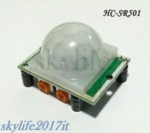 Modulo PIR HC-SR501 Sensore infrarosso di movimento presenza pic arduino