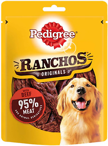 Pedigree Ranchos - Dog Treats with Beef 70 g Pack of 7