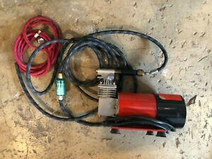 Badger Air Brush Co. COMPRESSOR Model 80-1 Whirlwind Oilless Piston Compressor