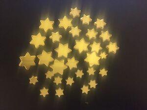 Mirror Art Craft Mosaic Tile Gold Acrylic Star