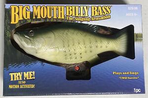 NIB Big Mouth Billy Bass 15th Anniversary The Singing Sensation - Singing Fish