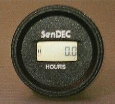 SENDEC Hour Meter all 5v 12v 24v 36v Fits Zero Turn Lawn Mower ,Boat ,Generator