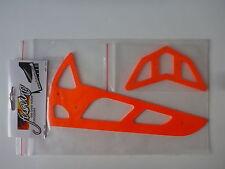 Fusuno Heckleitwerk Stabilisator Finne T-Rex 600   neon orange