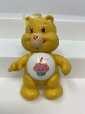 "Vintage 1983 Care Bears BIRTHDAY BEAR Collectible 3"" Plastic PVC Figure EVC"