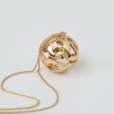 Tory Burch Gold Miller Bubble Long Necklace New