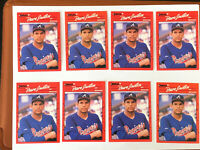 1990 David Justice Lot of 20 Rookie Cards NM/MINT - 10 Donruss, 8 Score, 2 Fleer