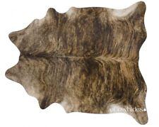 Brindle Brazilian Cowhide Cow Skin Hide Area Rugs Size XL