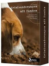 Krimiwanderungen mit Hunden von Eva Pretscher (2017, Set mit diversen Artikeln)