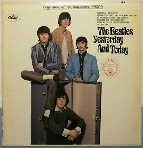 LP Beatles - Yesterday And Today