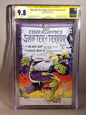 CGC SS 9.8 Edgar Allan Poe's Snifter of Terror Season 2 #4 Hulk Steranko Auto