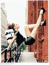 PUBLICITE ADVERTISING 106  2012  Longchamp  le sac à main Gloucester