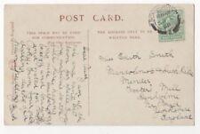 Miss Edith Smith Mandolinist Mender Fosters Mill Denholme Yorkshire 1908 829b