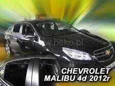 HEKO 10539 Windabweiser 4 teilig CHEVROLET MALIBU (IV Gen.) 5 türig Bj. ab 2012