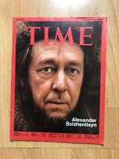 Time Magazine 25 Feb 1974 Alexander Solzhenitsyn