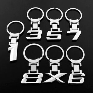 Metal Keychain Keyring Key Chain for BMW 1,3,5,6,7,8, X series Xmas Gift Hot