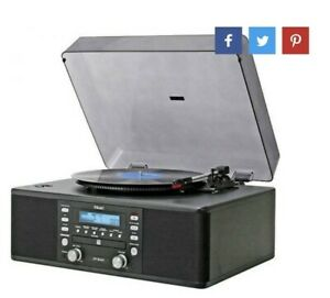 TEAC MULTI MUSIC PLAYER CD RECORDER TURNTABLE  LP-R400 USED VGC REMOTE CONTROL